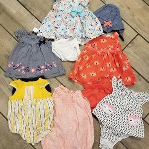 Newborn girl 12 piece bundle!!
